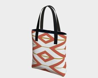 NEW! Tribal Glam Bag, Basic Tote Bag or Urban Tote Bag, Choose your strap.