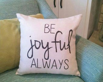 Pillow With Words Etsy