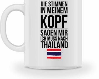 High quality Cup with quote Thailand gift
