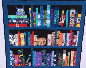 Bookshelf Baby Quilt/Wallhanging
