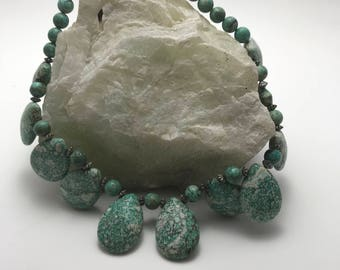Turquoise necklace from Arizona