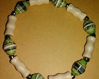 Handmade Stretchy Beaded Bracelet