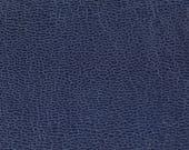 Coupon de cuir de chèvre bleu marine