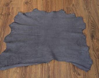 Dark gray velvet leather lambskin (9402535)