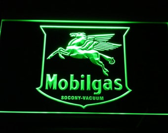Mobilgas Neon Sign Led sign LED Neon Sign On/Off Switch 6 Colors - Free shipping to US
