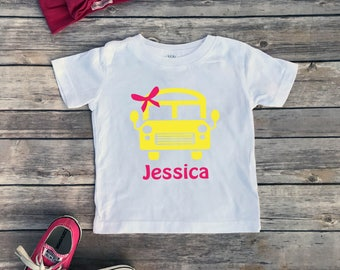 Custom back to school shirts, Personalized shirt, kindergarten shirt, school shirt, girl school shirt, 1st grade shirt, Preschool shirt