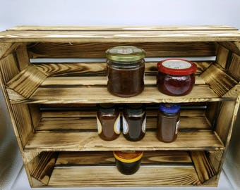 kitchen shelf, shelf, dish rack, wall, Badregal, kitchen cupboard, wall, storage, collector's showcase, model car, cupboard