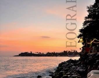 Canvas Print Photograph - Unawatuna, Sri Lanka
