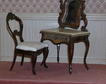 Miniature  Victorian  Vanity Set