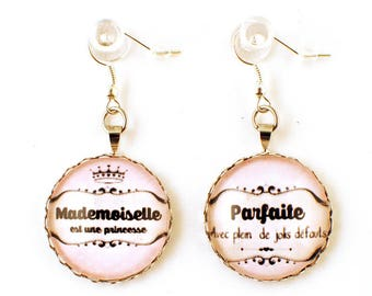 Earrings - cabochon - Miss perfect