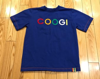 Coogi Youth T-shirt Blue multicolored Mint condition Size 8 boys vintage style coogi sweater biggie vintage youth