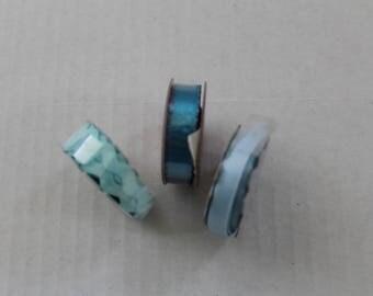 Blue Mini Ribbons
