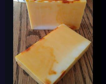 Lemon Soap - Natural Soap - Artisan Soap - Handmade Soap - Citrus Soap - Bar Soap - Body Soap - Handcrafted Soap - Glycerin Soap