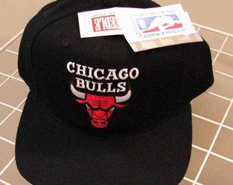 CHICAGO BULLS GENUINE licensed american needle vintage retro cap snapback hat