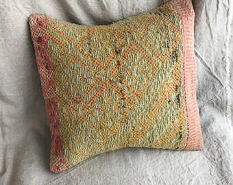 Peruvian Handwoven Wool Pillow Cover
