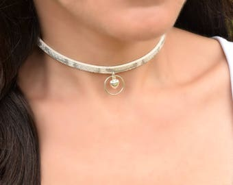 BDSMcollar, White Submissive Collar, Slave Collar, Submissive Jewelry, BDSM Day Collar, BDSM Jewelry, Discreet Day Collar, BDSM  Gifts