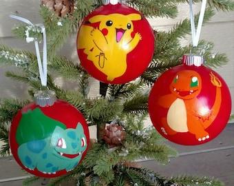 Pokemon Ornament Etsy