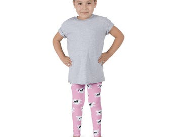 Kids Leggings/Yoga Pants Cute Pirate Design Multiple Sizes Available