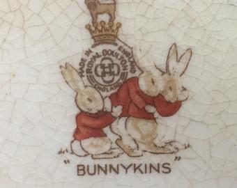"1937 Royal Dalton Bunnykins ""Racing & Cricket"" Mug signed"