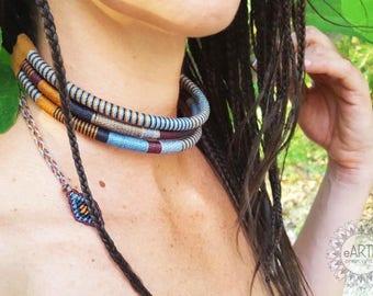 African Tribal Necklace Tribal Necklace-African Style