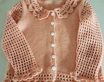 Little Lovely Lacey Cardigan