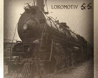 Lokomotiv SS CD - Classic Industrial 1986 Ltd. Ed. of 200 in Metal Boxes