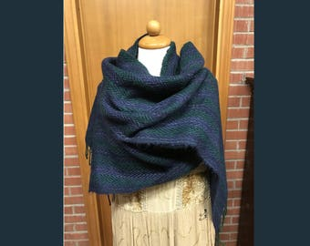 Hand woven scarf