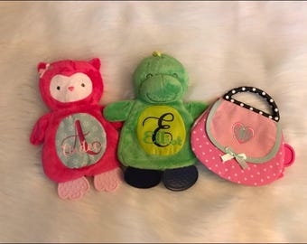 Personalized Crinkle BabyToys!