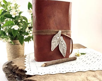 Leather Journal, Handmade Leather Journal, Personalized Leather Journal, Personalized Leather Diary, Personalized Leather Notebook