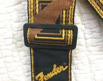 Vintage Fender  Guitar Strap Jimi Hendrix Rock and Roll