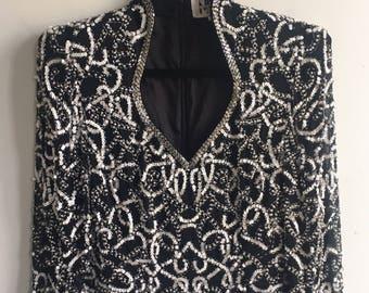 Vintage 80's Sequin Tunic