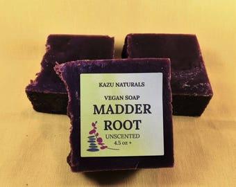Vegan Soap - Madder Root