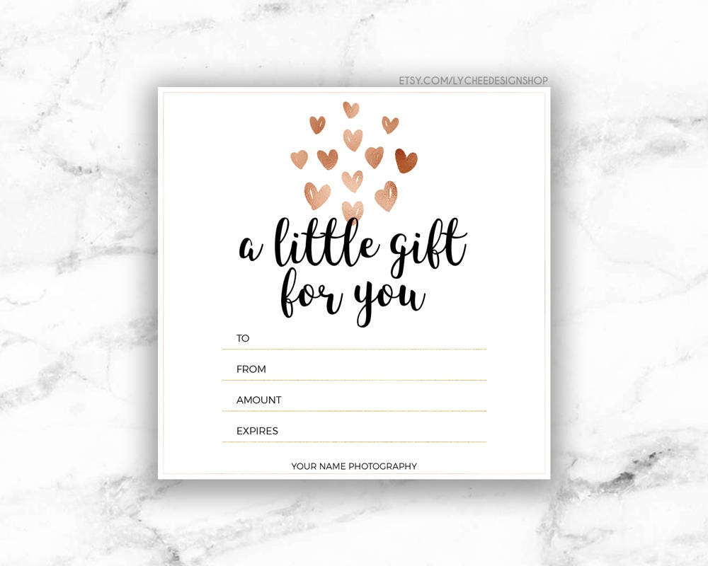 Printable gift voucher template certificate in word microsoft word printable rose gold hearts gift certificate template il fullxfull printable rose gold hearts gift pronofoot35fo Images