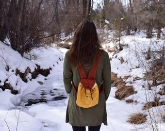 Buckskin Elvish Backpack