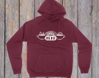 central perk hoodie, friends hoodie, friends shirt central perk shirt, central Perk cafe, coffee sweatshirt, Tumblr