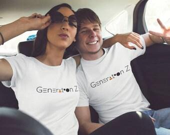 Generation Z T-Shirt, Generation Z Pride T-Shirt, Generational T-Shirts