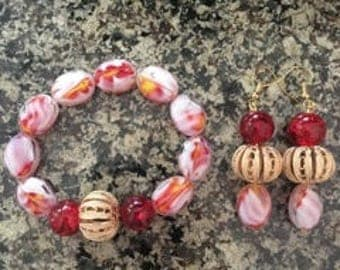 Fire Nation Inspired Jewelry Set