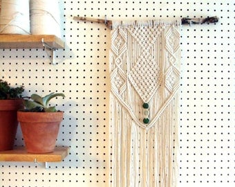 The Cooper - Macrame Wall Hanging, Macrame Wall Tapestry, Boho Decor