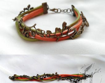 Autumn Bracelet. Countryside and nature on your wrist
