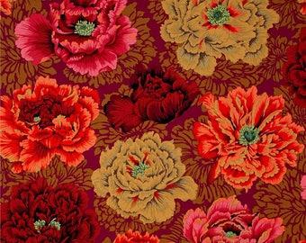 KAFFE FASSET BROCADE PEONY AUTUMN PATCHWORK fabric