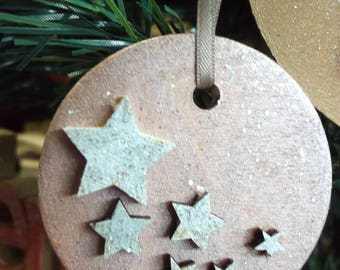 Star Bauble - Christmas Bauble - Christmas Decoration - Painted - Laser Cut