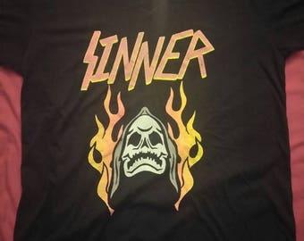 Brand New Death Sinner Shirt.
