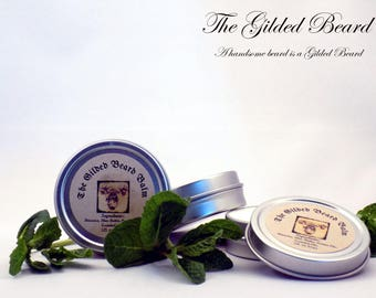 Fresh Mint Balm - All Natural Handcrafted Beard Balm, The Gilded Beard
