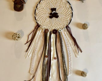 Dream catcher Teddy bear - OOAK