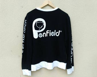 Vintage penfield big logo spell out sweatshirt