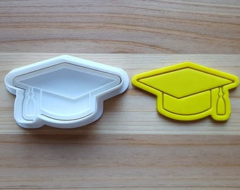 Mortarboard Cookie Cutter and Stamp