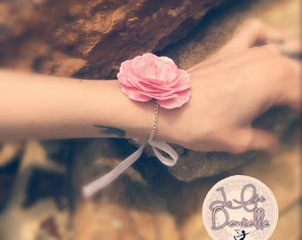 flower for wedding and other lovely day bracelet