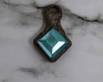 Soldered Aqua Crystal