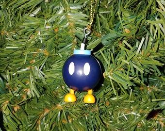 Nintendo Super Mario Bros. Christmas Ornament Bob-omb