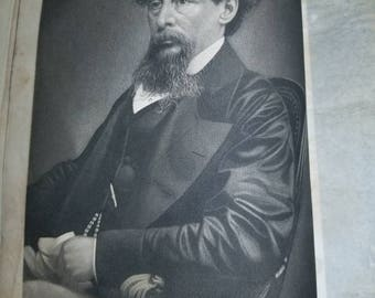 Very Rare! The Eclectic Magazine: Foreign literature, Science, and Art, Portrait of Charles Dickens, 1867